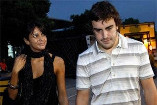 """Fernando Alonso: """"Me quedé impactado cuando conocí a Raquel"""""""