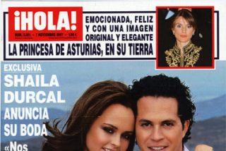 Shaila Dúrcal anuncia su boda en Hola