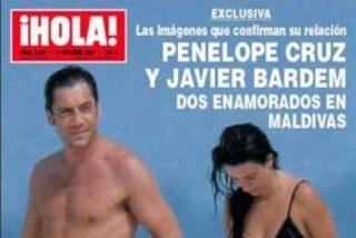 Penélope Cruz y Javier Bardém, ¿enamorados en las Maldivas?