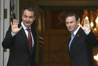 """ZP dijo en privado a Ibarretxe que su referéndum es """"sólido políticamente"""""""