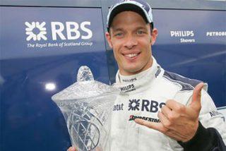 El piloto de Williams Alexander Wurz anuncia su retirada
