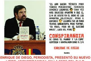 """Enrique de Diego: """"Han convertido el 11-M en un Gran Hermano cutre"""""""