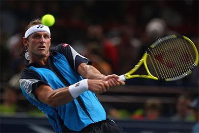 Nalbandian derriba a Federer otra vez