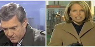 Dan Rather 'el presumido' o la importancia de usar gabardina en TV