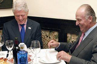 El Rey y Clinton comen juntos patatas con huevos