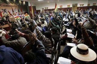El comité de estilo de la Constituyente boliviana modifica el contenido