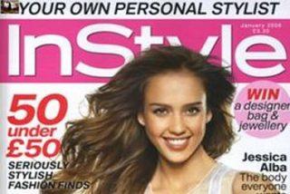 Jessica Alba será la portada de enero de In Style