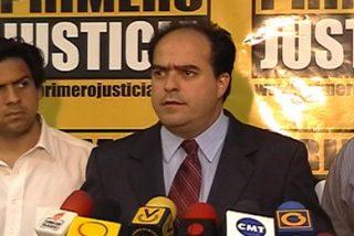 "Julio Borges critica a Chávez que sea ""pantallero"""
