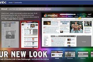 """""""No tires tu televisor (todavía estamos en beta)"""", dice MSNBC sobre el TV-player de su nueva web"""