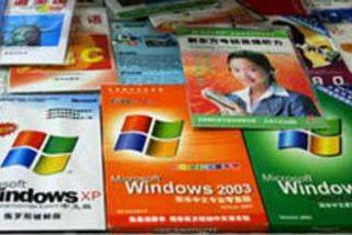 Microsoft logra vencer por primera vez a la piratería en China
