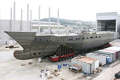 El nuevo titanic de el pocero - Construccion del titanic ...