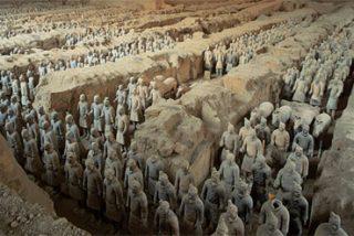 China estudia denunciar a un museo alemán por una exposición falsa de los Guerreros de Xian