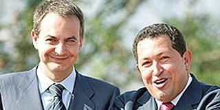 """Zapatero y Chávez vuelven a verse tras la cumbre del """"¿Por qué no te callas?"""""""