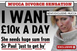 Heather Mills pide más de 14.000 euros diarios a McCartney por su divorcio