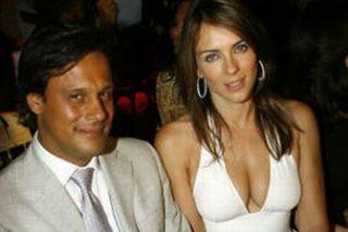 Liz Hurley llega a Bombay para casarse por segunda vez