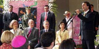 Con la presenc ia de SSMM los Reyes de España, se inauguró el Parque Biblioteca España en Santo Domingo (Medellín)
