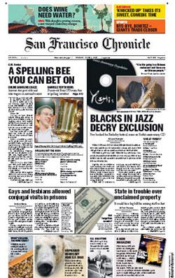 """San Francisco Chronicle"", prueba de la crisis de la prensa en EEUU"