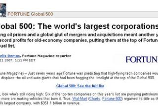 El Santander, Telefónica y Repsol YPF, en el top 100 mundial