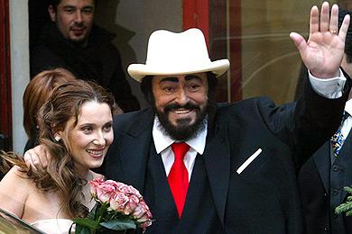 Luciano pavarotti tenor for Nicoletta mantovani pavarotti
