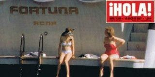 Hola paga a precio de oro la exclusiva del verano: Letizia en biquini