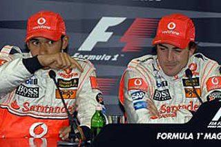"""Hamilton: """"Alonso y yo nos llevábamos muy bien"""""""