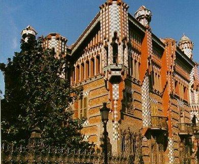 Una inmobiliaria ofrece la casa vicens de gaud por 35 millones - Inmobiliaria la casa barcelona ...