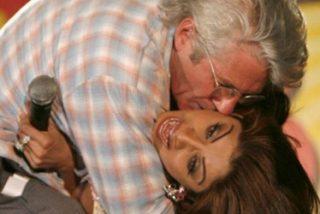 Arrestan a una estrella del cine indio por su beso con Richard Gere