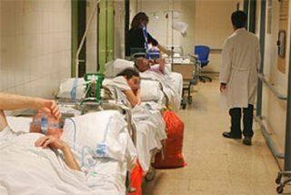 Estado de colapso en el Hospital de La Paz