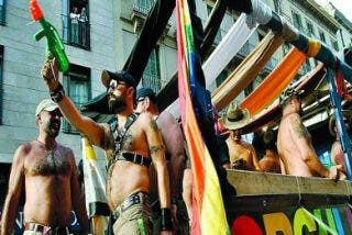 Los homosexuales se entienden en Barcelona