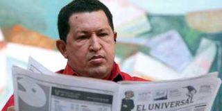 Hugo Chávez acusa al presidente Uribe de planear su asesinato