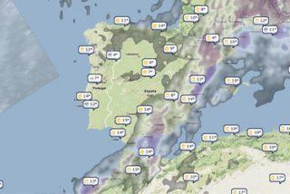 El parte meteorológico a través de los mapas de Google