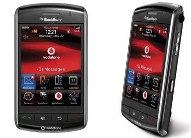 BlackBerry se suma a la moda de la pantalla táctil