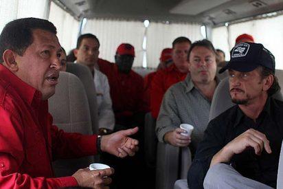 Sean Penn visita por segunda vez a Hugo Chávez