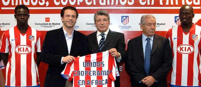 Comunidad de Madrid y Atlético de Madrid firman convenio de cooperación