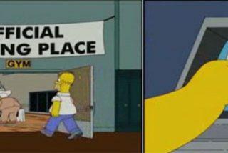 Homer Simpson vota por Obama