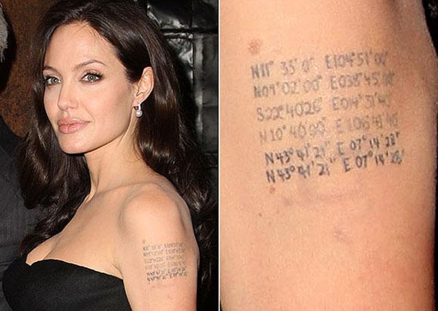 Angelina Jolie estrena tatuaje