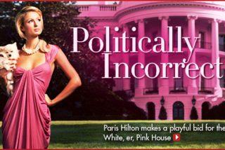 Hilton recomienda a Palin aparecer en traje de baño