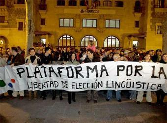 """El PNV a los que quieren que sus hijos estudien en castellano: """"Preparaos y marchaos a Logroño"""""""