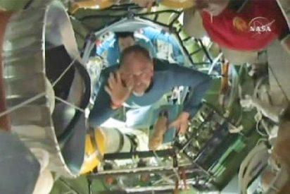 La Soyuz regresa a la Tierra