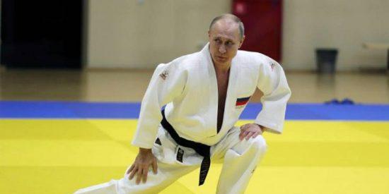 ¿Quieres aprender judo?... el presidente Putin te enseña