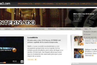 """Antena 3 preestrena 'El internado' en su nueva """"televisión a la carta"""" on-line"""