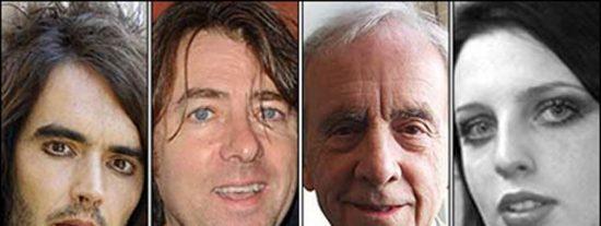 La BBC suspende a dos de sus estrellas por insultar a un actor