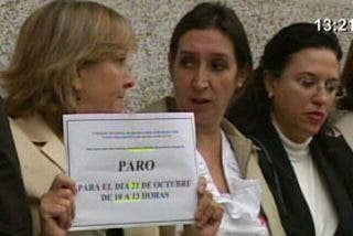 """Los Secretarios Judiciales piden la cabeza de Bermejo por las """"injerencias"""""""