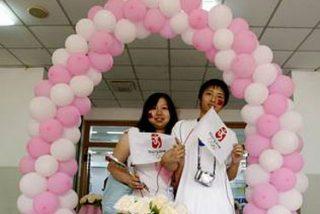 Trescientos divorcios olímpicos en Shanghai