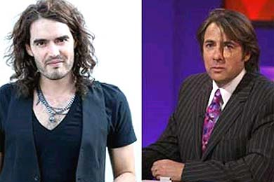 Russell Brand y Jonathan Ross