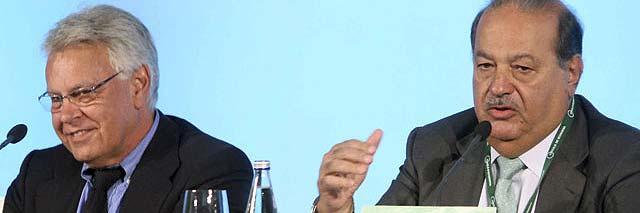 ¿Es Carlos Slim el millonario que trae Cebrían al Grupo Prisa?