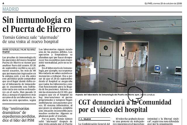 ¿Le ciega a El País su aversión a Esperanza Aguirre o le fallan calendario y rigor informativo?