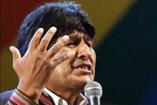El Gobierno de Morales acusa a un periódico del Grupo PRISA de hacer