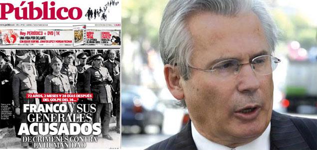 """""""¡A ver si investiga Garzón lo que les pasó a sus paisanos en los trenes de la muerte en agosto del 36!"""""""