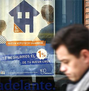 Un 40% menos de viviendas hipotecadas en Sevilla